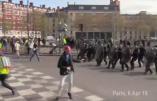 Acte XXI à Paris – Premières tensions entre gilets jaunes et policiers