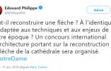 """Le Premier ministre veut """"moderniser"""" Notre-Dame de Paris"""