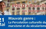 21 mai 2019 à Bruxelles – Mauvais genre : la Percolation culturelle du marxisme et du sécularisme