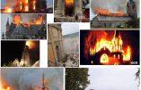 Un an d'incendies :  10 églises ont brûlé en France