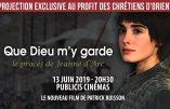 13 juin 2019 – Projection du film «Que Dieu m'y garde» au profit des Chrétiens d'Orient