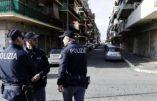Italie et Immigration: des forces de l'ordre majoritairement agressées par des migrants