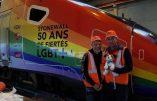 La SNCF fait de la propagande LGBT intensive