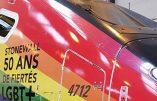 France, le TGV arc-en-ciel