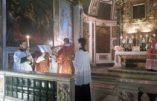Le pape François vient de casser une autre communauté Ecclesia Dei