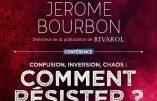 16 novembre 2019 à Genève – Conférence de Jérôme Bourbon, directeur de Rivarol