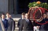 Louis de Bourbon, fier d'avoir porté le cercueil du Général Franco