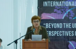 En Moldavie, Marion Sigaut dénonce le plan mondial de perversion des mœurs