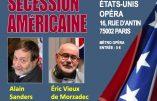 """10 décembre 2019 à Paris – Conférence """"La vérité sur la Guerre de sécession américaine"""""""