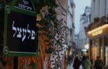Plaque de rue en yiddish à Paris maintenant ?