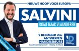 2 décembre 2019 – Matteo Salvini à Anvers