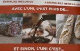 L'UNI accusée d'islamophobie pour un simple tract illustré d'un saucisson et d'un verre de vin