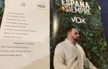 Espagne – VOX pourrait doubler son nombre de députés ce 10 novembre
