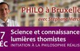 17 décembre 2019 à Bruxelles – Science et connaissance : lumières thomistes