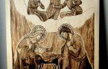 La Nativité (œuvre de Caleana Major)