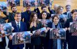 """La Ligue apporte une crèche au parlement UE : """"Défendons nos traditions"""""""