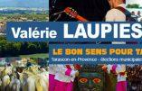 Le bon sens pour Tarascon avec Valérie Laupies