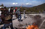 Les manifestants anti-migrants grecs font fuir la police aux ordres du gouvernement immigrationniste