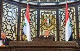 La Syrie reconnait et condamne le génocide commis par la Turquie contre les Arméniens