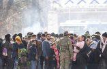 Face à l'invasion, les Grecs résistent