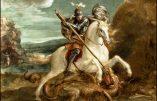 Jeudi 23  avril 2020 – De la férie – Saint Georges, Martyr, Patron de l'Angleterre et des militaires