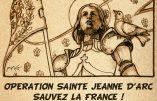 Ce dimanche 10 mai 2020, participez à l'Opération « Sainte Jeanne d'Arc, sauvez la France ! »