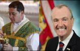 M. l'Abbé Kevin Robinson, FSSPX, poursuit en justice le gouverneur du New Jersey Phil Murphy pour atteinte à la liberté de culte