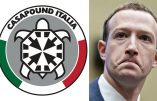 En Italie, victoire de Casa Pound contre la censure Facebook