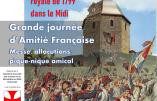 22 août 2020 – Commémoration du massacre de Montréjeau lors de l'insurrection catholique et royale de 1799 dans le Midi