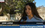 Pour la jeunesse de Tarascon, avec Jade Lopez et Valérie Laupies
