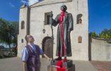 """Les Black Lives Matter vandalisent les statues de Saints : """"c'est le retour des Barbares"""", souligne Mgr Reig Pla"""
