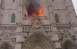 Incendie de la cathédrale de Nantes : un réfugié rwandais suspect