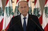 """Le président du Liban parle de la possibilité d'un """"missile ou d'une bombe"""" et demande à la France les images satellites"""