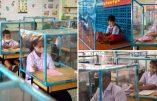 Thaïlande : cages en plastique dans les écoles pour combattre le coronavirus