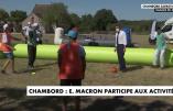 Macron à Chambord, entre la promotion du multiculturalisme et de l'art contemporain mondialiste