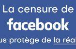Facebook censure Médias Presse Info pour avoir relayé une interview du Professeur Perronne