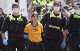 Melbourne – Des dizaines d'arrestations lors d'une manifestation contre la dictature sanitaire