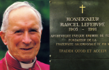Transfert de la dépouille de Mgr Lefebvre (vidéo)