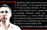 Hervé Ryssen nous parle du pouvoir de la prière