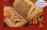 Conférences d'exégèse biblique à Paris