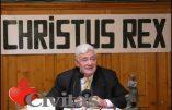 La vérité vous libèrera… Intervention de Bruno Gollnisch chez Civitas