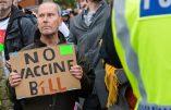Manifestation à Londres contre la tyrannie sanitaire