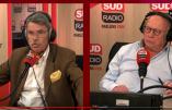 """Lugan chez Sud Radio : """"Nous sommes chez nous et ce n'est pas à des étrangers de nous dire, à nous vieux Français, ce que nous devons être"""""""