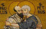 Mercredi 18 novembre – La Dédicace des Basiliques des saints Apôtres Pierre et Paul