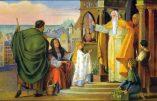 Samedi 21 novembre – La Présentation de la Bienheureuse Vierge Marie
