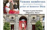 Dimanche 29 novembre 2020 à Bordeaux – Grand Messe en plein air