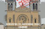 22 novembre 2020 à Vichy – Rendez-nous la Messe !