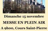 15 novembre 2020 à Nantes – Nous voulons la Messe !