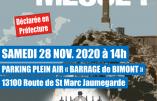 Samedi 28 novembre 2020 à Beaurecueil – Nous voulons la Messe !