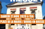 Samedi 21 novembre 2020 à Bourg-en-Bresse – Nous voulons la Messe !